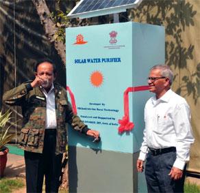 Применение солнечной электростанции для опреснения воды