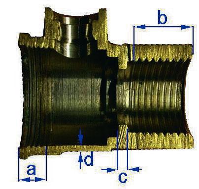Изображение шарового крана Valtec в разрезе