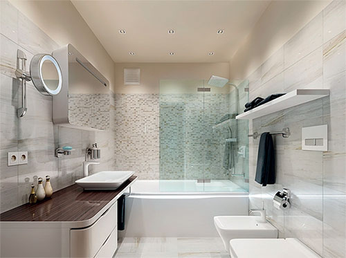 Зображення сучасний ремонт ванної кімнати фото