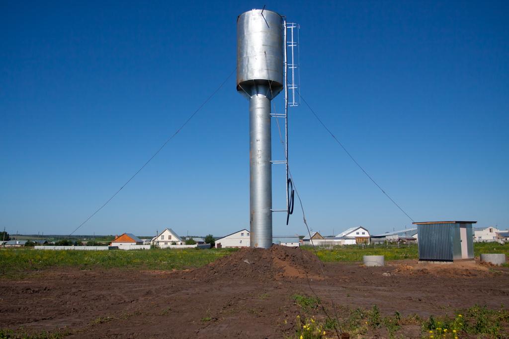 Водонапорная башня поддержание уровня датчик давления